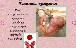 Под каким именем крестить полину