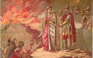 Как княгиня ольга отомстила древлянам