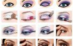 Правила нанесения легкого макияжа для голубых глаз