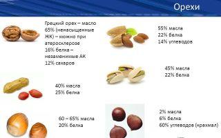 Какие орехи можно есть беременным