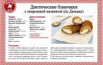 Рецепты низкокалорийных блинов