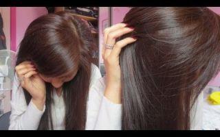 Как перекрасить волосы из черного в коричневый