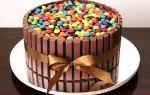 Торт из «кит-кат»