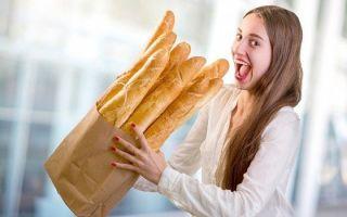 Как есть хлеб и худеть