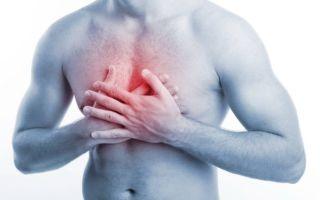 Как облегчить боль в груди