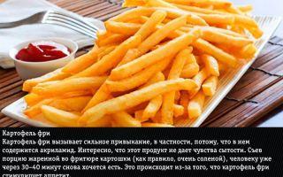 Какие продукты вызывают зависимость