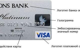 Как узнать номер банковской карты