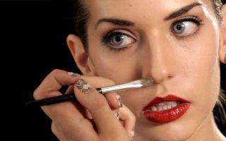 Как скрыть длинный нос
