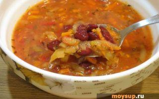 Как сварить вкусный суп из красной фасоли в 2018 году