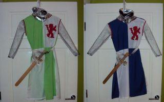 Как сделать самому костюм рыцаря