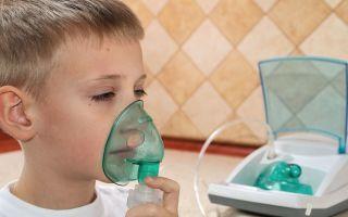 Чем подышать через небулайзер при сухом кашле?