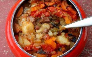 Как готовить жаркое по-домашнему