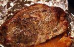 Сколько  запекать цельный кусок свинины в духовке