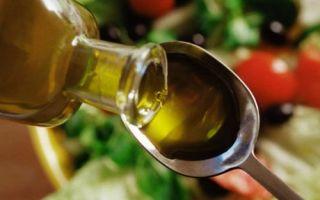 Как пить растительное масло при запорах