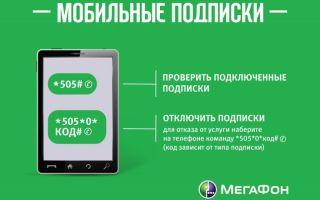 Как узнать, что подключено на мегафоне, и как отключить