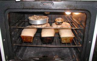 Как печь в газовой духовке