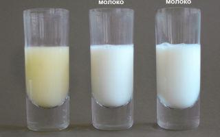 Какого цвета должно быть грудное молоко