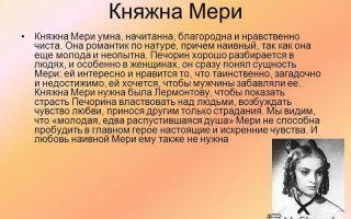 Княжна мери: краткое содержание повести из романа м.ю. лермонтова «герой нашего времени»