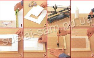 Как сделать рамку из дерева