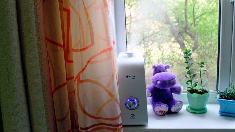 Где лучше ставить увлажнитель воздуха в комнате